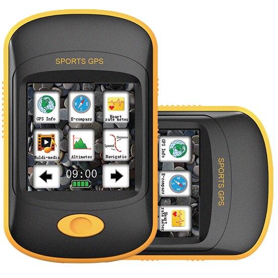 free shipping new handheld gps navigator for outdoor sport travel hiking gps navigationfor. Black Bedroom Furniture Sets. Home Design Ideas