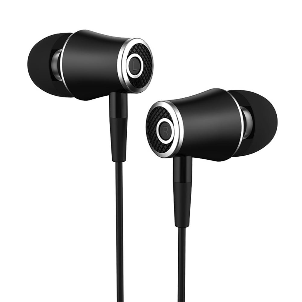 In-Ear Headset Wired Earphone Stereo Connector Headphone for iPhone Computer Built-In Microphone