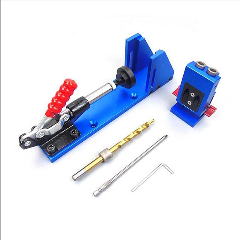 XK-2 DIY Pocket Hole Jig Kit Drill Bit  9.5MM For Wood Working