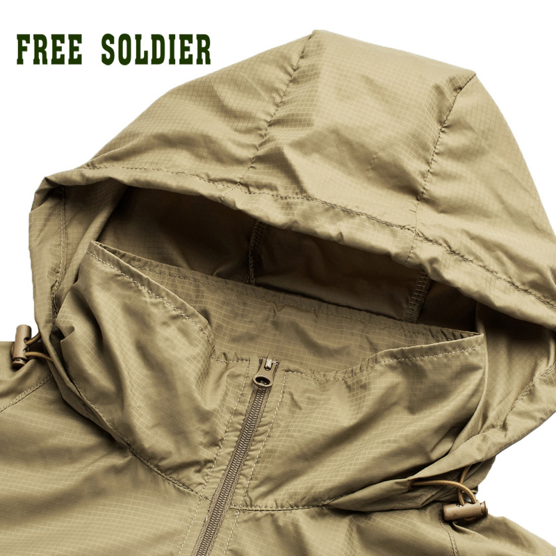 Outdoor Camping Tactical Skin Spring Summer Breathable Ultra-thin Quick-drying Skin Trench Coat Mens Jacket Back To Search Resultssports & Entertainment Shirts