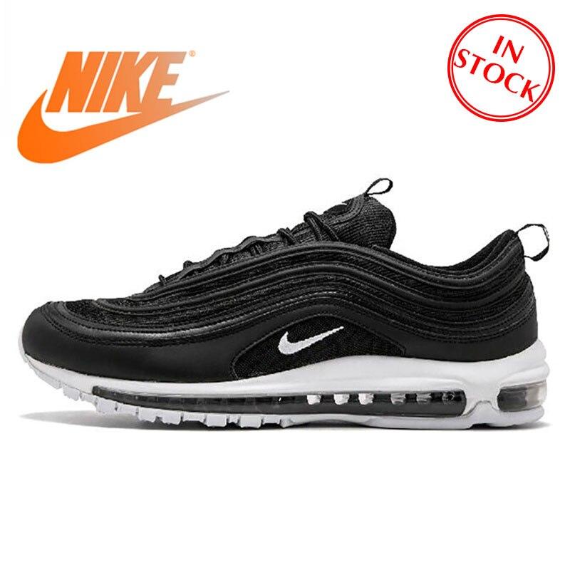 Original oficial Nike Air Max 97 zapatos de correr transpirables para hombre zapatillas deportivas tenis clásico transpirable bajo- top clásico