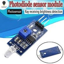 Module de capteur de lumière de sensibilité LM393 capteur de lumière photosensible pour Arduino Smart Car 3.3 V-5V