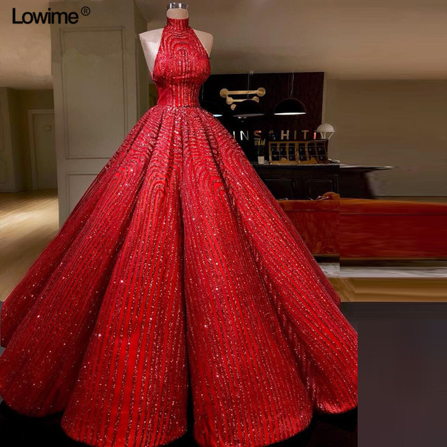 Sexy Elie Saab Long Red Arabic Ball Gown Formal Evening Party Dress Abiye  Dubai Turkish Evening Gowns Dresses Robe De Soiree e36e20c94222
