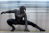 2019 black suit the amazing spider man homecoming costume Spiderman cosplay halloween costumes for men adult costumes suits