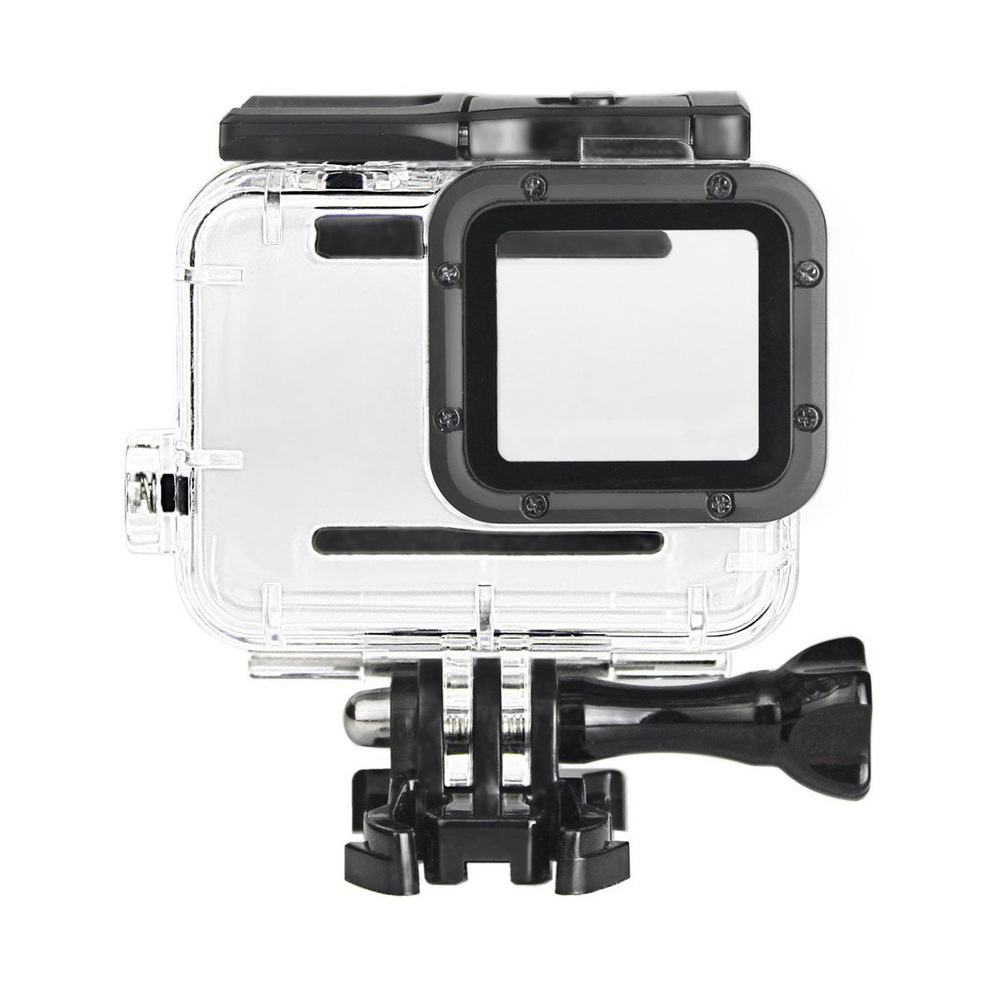 Image 4 - Clear Underwater Housing for Gopro Hero 5 6 with Anti Fog Inserts Protective Waterproof Dive Shell 40m Deep Water Scuba Case-in Sports Camcorder Cases from Consumer Electronics