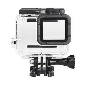 Image 4 - Gopro hero 5 6 용 투명 수중 하우징 anti fog inserts 보호 방수 다이브 쉘 40 m 딥 워터 스쿠버 케이스