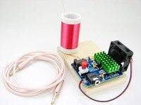 Tiny Music Tesla Coil Mini Plasma Speaker Electronic DIY Kits Geek Soldering Welding KITS