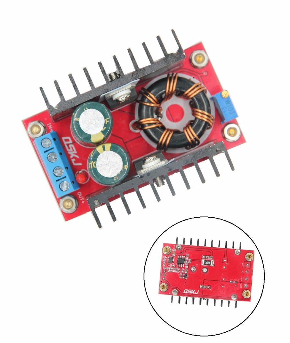 150W DC-DC Boost Converter 10-32V To 12-35V 6A Step-Up Power Supply Module