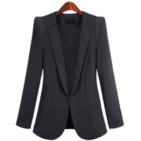 Blazer Feminino OL Temperament Plus Size 5XL Spring Jackets Women S Blazers Work Coats Small Suit