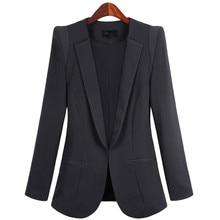 Blazer Feminino OL Temperament Plus Size 5XL Spring font b Jackets b font Women s Blazers