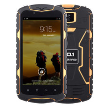 Original No.1 X1 Waterproof Shockproof Phone Android 4.4 MTK6582 Quad core 5″ 1280×720 1GBRAM 8GBROM 13MP 3300mAh mobile phone
