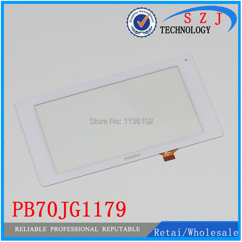(Ref: PB70JG1179 ) New 7 inch touch screen For Philips external screen handwriting screen capacitive touch panel Free shipping