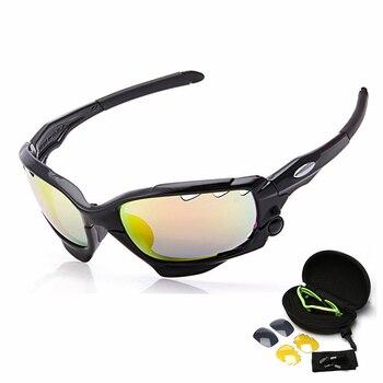 43f429dc6e NEWBOLER polarizado gafas ciclismo 5 lentes opcional de las mujeres de los  hombres deporte gafas de sol montaña bicicleta de carretera gafas UV400  bicicleta ...