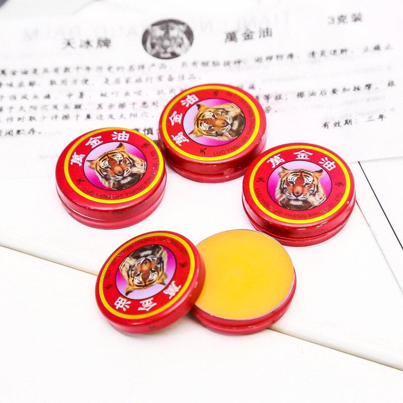 5/10 Stücke Massage Rot Muscle Reiben Schmerzen Kühlen Creme Chinesischen Tiger Balsam Öl Für Erwachsene Schmerzen Erleichterung Salbe