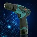 Este 12 V de Litio de dos velocidades Recargable taladro eléctrico destornillador herramientas para Makita Cargador de batería Impermeable LLEVÓ la Luz de Mano