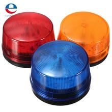 High Quality Waterproof 12V 120mA Safely Security Alarm Strobe Signal Safety Warning Blue Red Orange Flashing LED Light