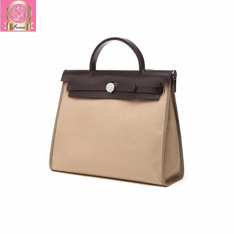 2018 Luxury Famous Designer Canvas Handbag Women Shoulder Bag Lock Bag High Quality Tote Classic Handbags