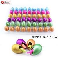 Wiben 54pcs Lot Novelty Gag Toys Children Toys Cute Magic Hatching Growing Dinosaur Eggs For Kids