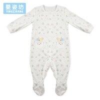 2017 الوقت محدود وصول جديدة yingzifang طفل لطيف الفتيان الفتيات الملابس الوليد الرضع الربيع حللا القدمين المعطف