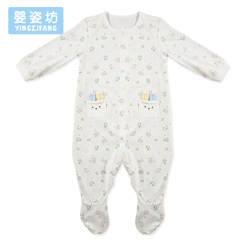 2018 Time-limited New Arrival Yingzifang Baby Rompers Cute Boys Girls Clothes Newborn Infant Spring Jumpsuits Footed Coverall