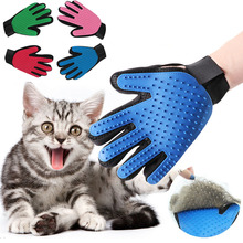 Glove For Cats Cat Grooming Pet Dog Hair Deshedding Brush Comb Glove For Pet Dog Finger Cleaning Massage Glove For Animal pet grooming glove for cats brush comb cat hackle pet deshedding brush glove for animal dog pet hair gloves for cat dog grooming
