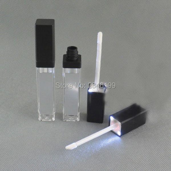8ML 20pcs lot Superior Arcylic LED Lip Gloss Tube Empty Lip Gloss Container with LED n