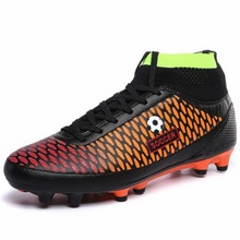 Soccer Cleats Superfly High Ankles 2016 Kids Football Boots Boy AG Sports Shoes Original Cheap Outdoor Sneakers China Sale