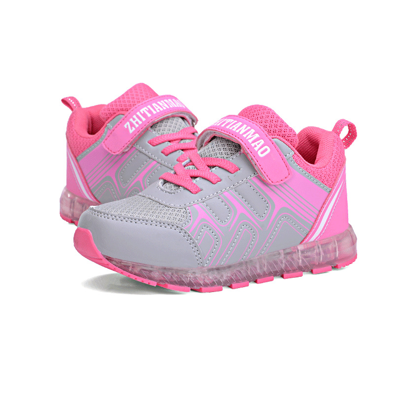 e41fb32fe New Girls Boys USB Charger LED Children Shoes Kids Simulation Sole Glowing  Flashing Lighted Luminous Chaussure Casual Sneakers-in Sneakers from Mother  ...