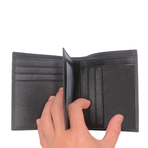 Mens wallet mon design luxury mb wallet 100% genuine leather wallet blanc card holder wallet purse MO-402