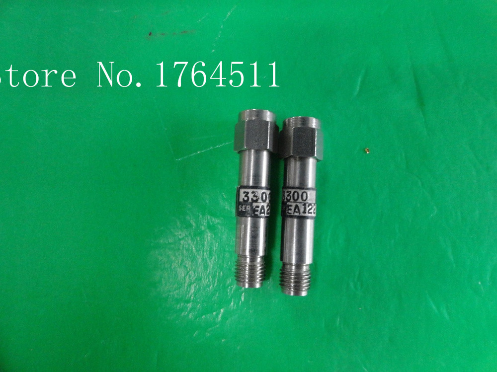 [BELLA] WEINSCHEL 3300 DC-3GHz 3dB 2W RF Coaxial Fixed Attenuator SMA  --5PCS/LOT