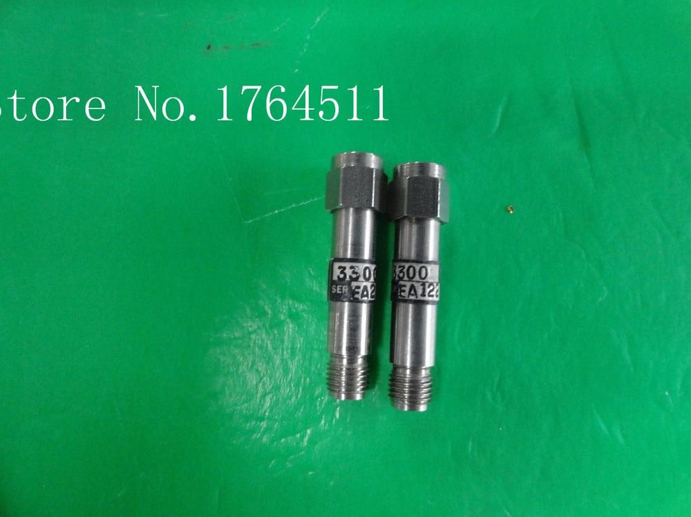 [BELLA] WEINSCHEL 3300 DC-3GHz 3dB 2W RF Coaxial Fixed Attenuator SMA  --5PCS/LOT