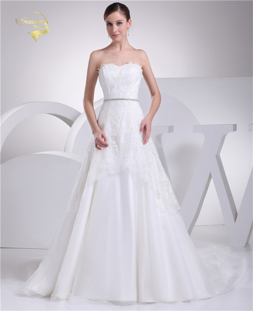 Jeanne Love New Perfect Wedding Dresses 2018 Casamento Bridal Gown ...
