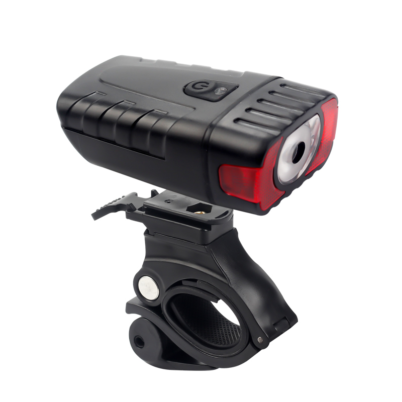 BIKEIN 300 Lumen USB Rechargeable Bicycle Handlebar LED Front Light Quick Release 3 Modes 800mAh Battery Bicycle Accessories 75g