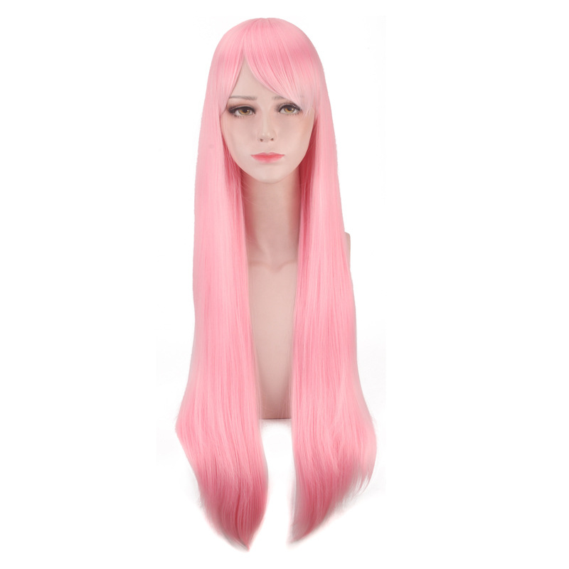 Rem Ram Long Blue Red Wig Cosplay Costume Re:Life In A Different World From Zero Synthetic Hair Women Halloween Party Wigs