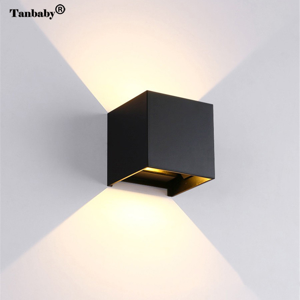 Cob Led Verlichting Tanbaby 12w Outdoor Wall Light Waterpoof Cob Led Lighting Lamp
