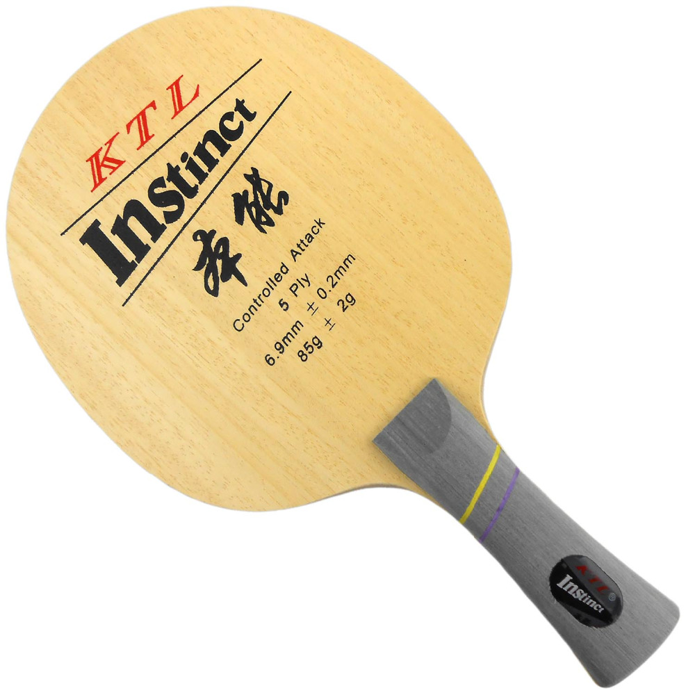 KTL Instinct (L-1008, L1008, L 1008) Controlled Attack Table Tennis Blade (Shakehand) For PingPong Racket