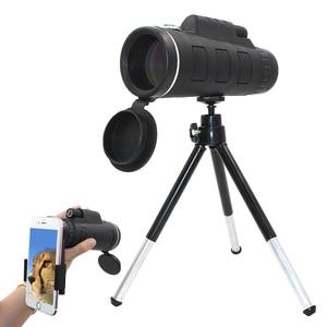 Image 1 - 40X Zoom Kamera Monokulare Handy linsen Zoom Objektiv für Smartphone Zoom Telefon Teleskop für Mobile