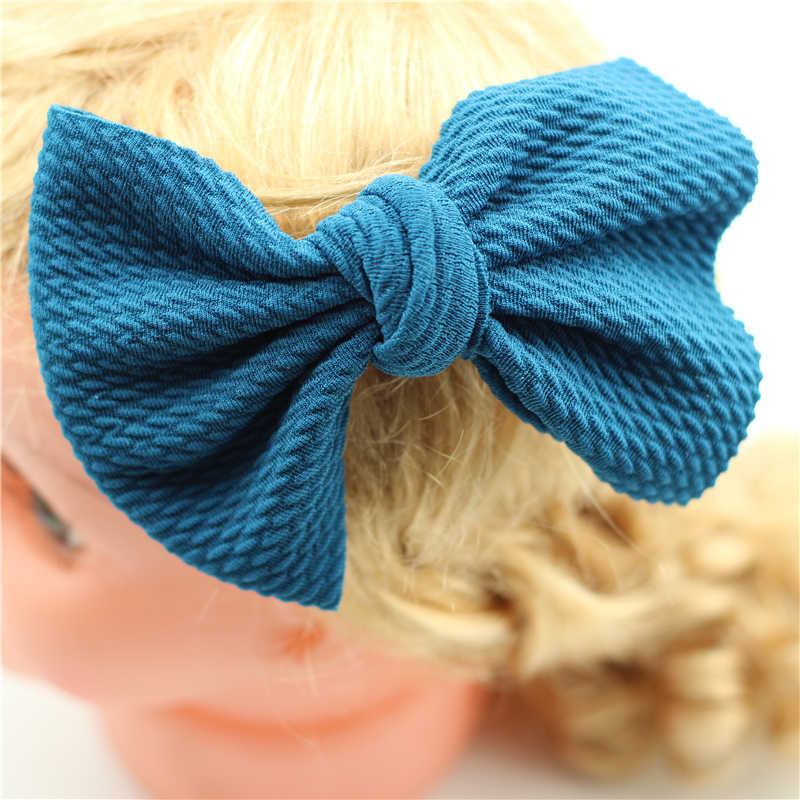 Newborn Baby Big Bow Barrettes Girls Bowknot hair clips Large Messy Bow Dogs headwear Infant Bebes Infant hair clip hairpins