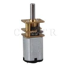 CNBTR 33×12 мм Серебро Метал 300 ОБ./МИН. DC 3 В Мини Скорость Редуктора Колеса Двигателя