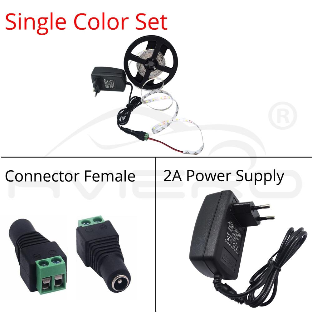 5m 2835 3528 LED Strip Lámpara de escritorio RGB Blanco Rojo Verde - Iluminación LED - foto 6