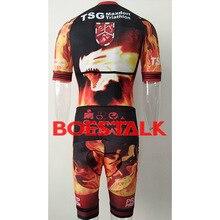 custom pro team kit 2019 fire Dragon red men cycling skinsuits lycra triathlon bike speedsuit trisuit body suits wear jumpsuit