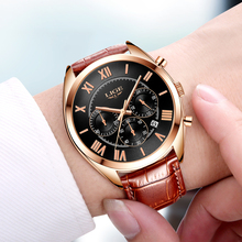 Watches Men Military Leather