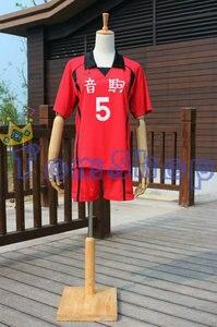 Image 2 - Haikyuu!! Nekoma High School #5 Kenma Kozume Cosplay Costume Jersey Sports Wear Uniform Size M XXL Free Shipping