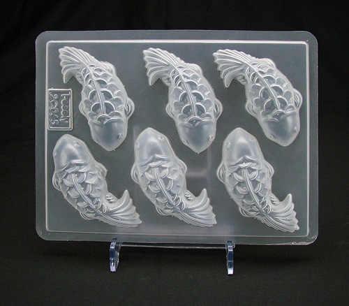 אפיית כלי שש דג זהב דגי PP עובש ג 'לי עובש פודינג שוקולד עובש