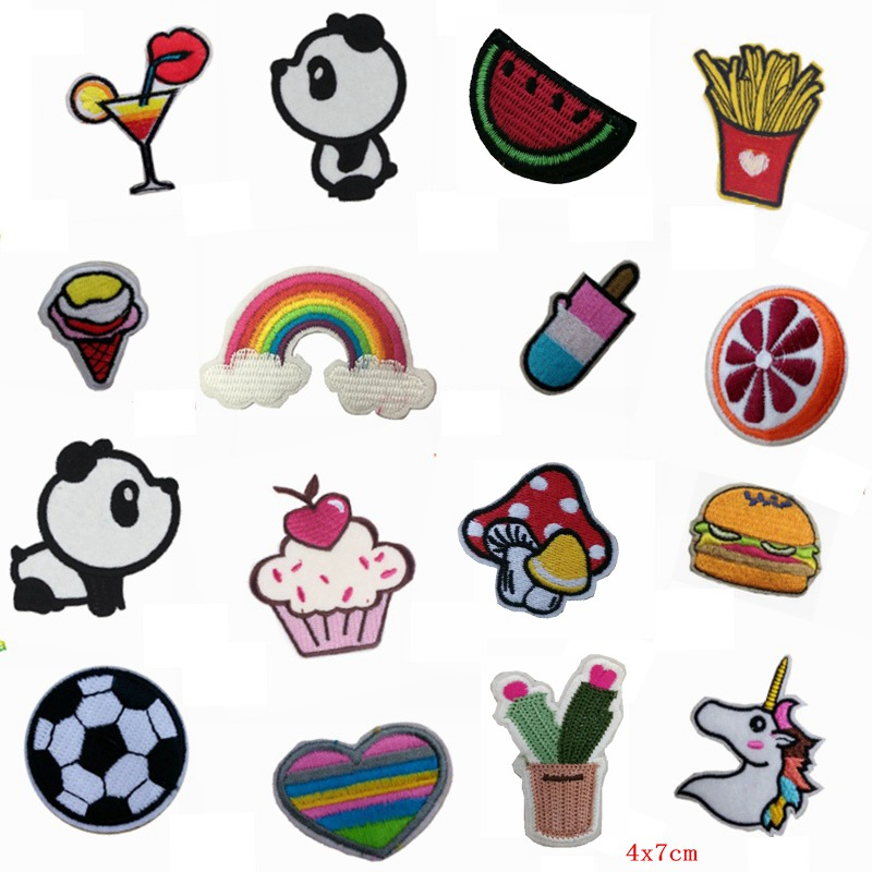 aliexpress   buy cute mixed patches cheap embroidered applique