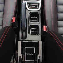 18 шт. автомобиля-Стайлинг латексные автомобильные чехлы Нескользящая наклейка внутренняя дверная накладка крышка ворота Слот коврик Украшение для Suzuki VITARA