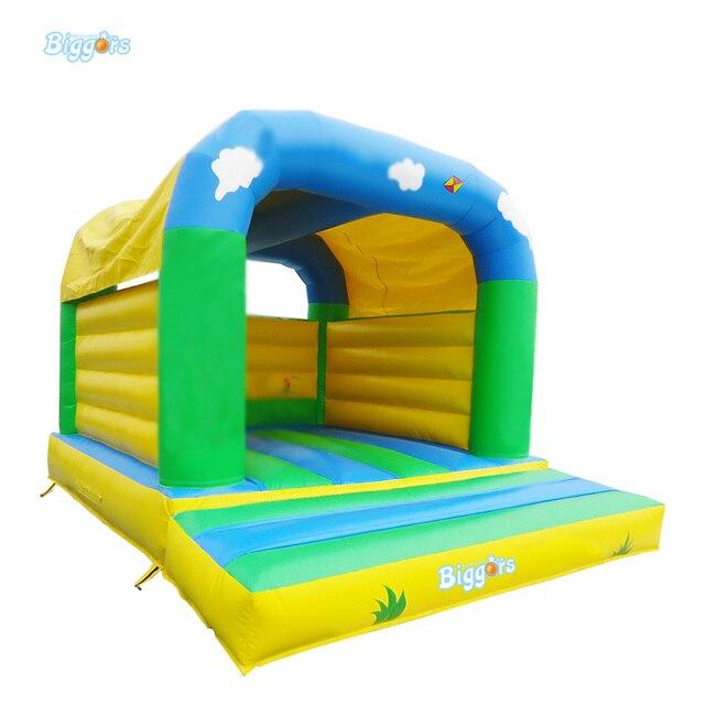 Bardzo dobryFantastyczny Mini Dom Bounce Nadmuchiwane Trampolina Dla Dzieci Jumpling Zamku QX42