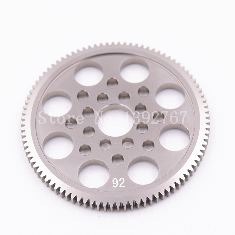 3Racing Sakura Alloy 6061 OP Metal 48P Spur Gear 92T Motor Gear For D4 CS AWD RWD For 1/10 Scale Models Drift Racing Cars RC Car увеличитель пениса developee