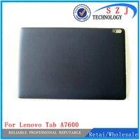 Novo 10.1 ''polegadas Para Lenovo Tab A10-70 A7600 A7600-F tampa Da Bateria de volta caso tampa Traseira shell Conserto Frete Grátis