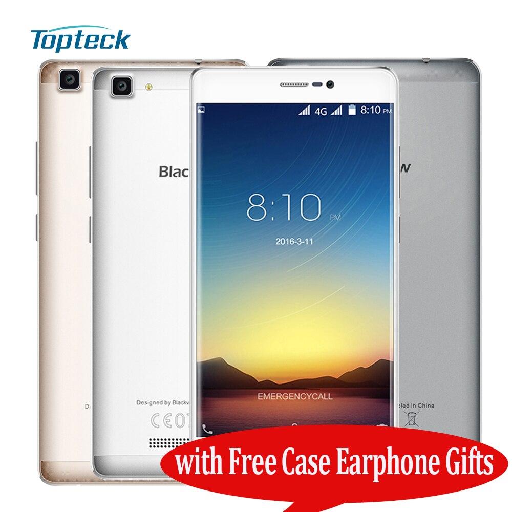 """Цена за Blackview A8 Max 4 Г 5.5 """"HD IPS Смартфон Android 6.0 MTK6737 Quad Core 1.3 ГГц Мобильного Телефона 2 ГБ + 16 ГБ 5MP 8MP 3000 мАч мобильный Телефон"""